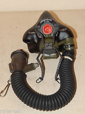 RAF Flying Helmet Type P14 Oxygen Mask, inc Hose And Inlet Connector [P154]