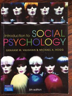 Social psychology vaughan hogg textbooks gumtree australia introduction to social psychology vaughan and hogg 5th ed fandeluxe Choice Image