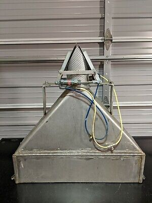 Eagle Machinery Linear Vibratory Feeder Weigh Scale Funnel Chute Gate Dispenser