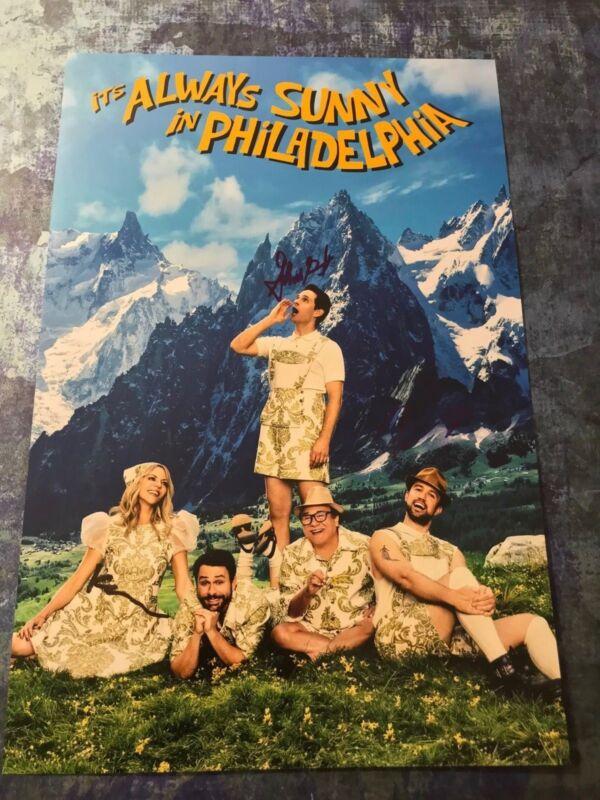 Dennis Mac Dee * IT'S ALWAYS SUNNY IN PHILADELPHIA * Signed 12x18 Photo AD2 COA