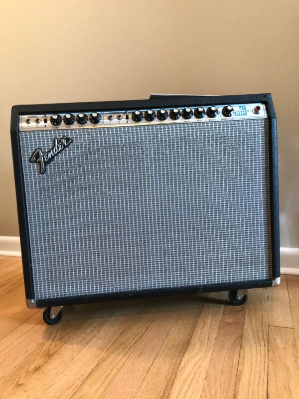 Fender Pro Reverb Guitar Amp Vintage 80