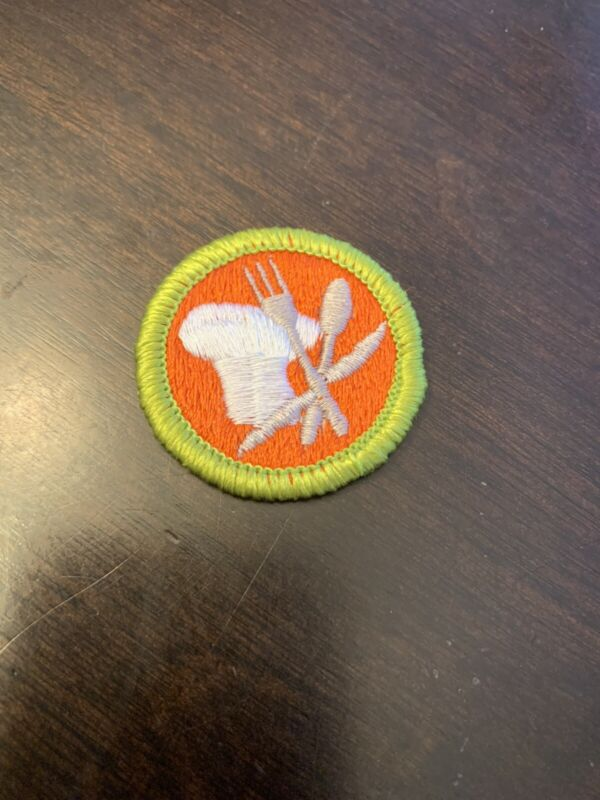 BSA  Cooking Merit Badge - Type H - Boy Scouts of America