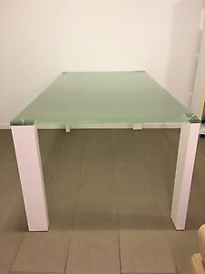 Dining Table : Glass top (must sell) Bulimba Brisbane South East Preview