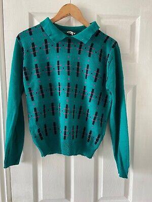 vintage knitted jumper