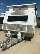 Poptop Caravan with Awning Hume Area Preview