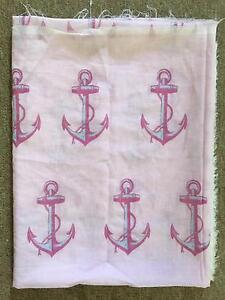 100% COTTON FABRIC MATERIAL CLOTHING ANCHOR $5.00 New Farm Brisbane North East Preview