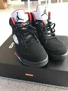 For sale Supreme Air Jordan 5 Docklands Melbourne City Preview