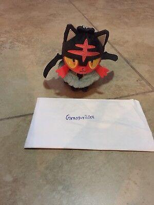Pokemon Center  Litten Halloween Costume Plush Keychain](Children's Pokemon Halloween Costumes)