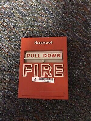 Honeywell S464a 1144 3 Fire Alarm Pull Station W Tc809b1008 Monitor Module