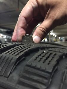 Excellent condition winter tires for sale!
