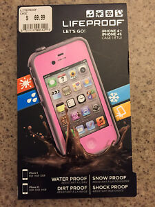 Pink Lifeproof Fre Case for iPhone 4/4S