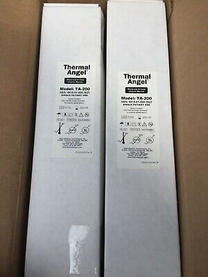 Box Of 10 Thermal Angel Blood Iv Fluid Infusion Warmer Model Ta-200