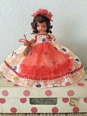 Vintage Nancy Ann Storybook Dols ~ #185 Saturday's Child Doll Bisque