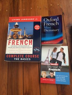 French/Indonesian/Russian/Thai dictionary, phrasebook & learning guide