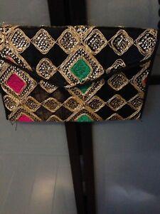 Handmade crossbody bag