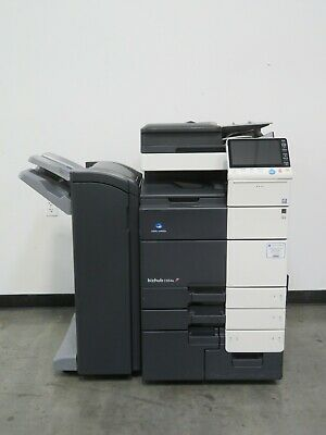 Konica Minolta Bizhub C654e Color Copier Only 187k Copies 65 Page Per Minute