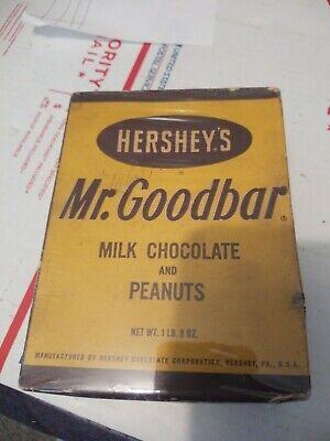 Hershey's Mr. Goodbar Item 84 Vintage Candy Display Box 1950's