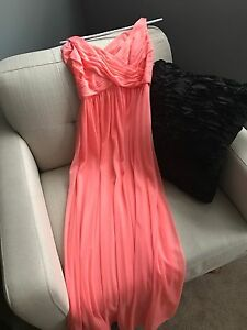 Coral Reef Long Formal Dress Size 2 Kitchener / Waterloo Kitchener Area image 1