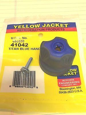 Yellow Jacket Titan Manifold Handle Blue 41042