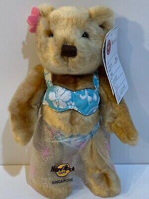 Hard Rock Cafe Singapore 2004 Bikini Beach Girl Teddy Bear Herrington Prototype Beach Teddy Bear