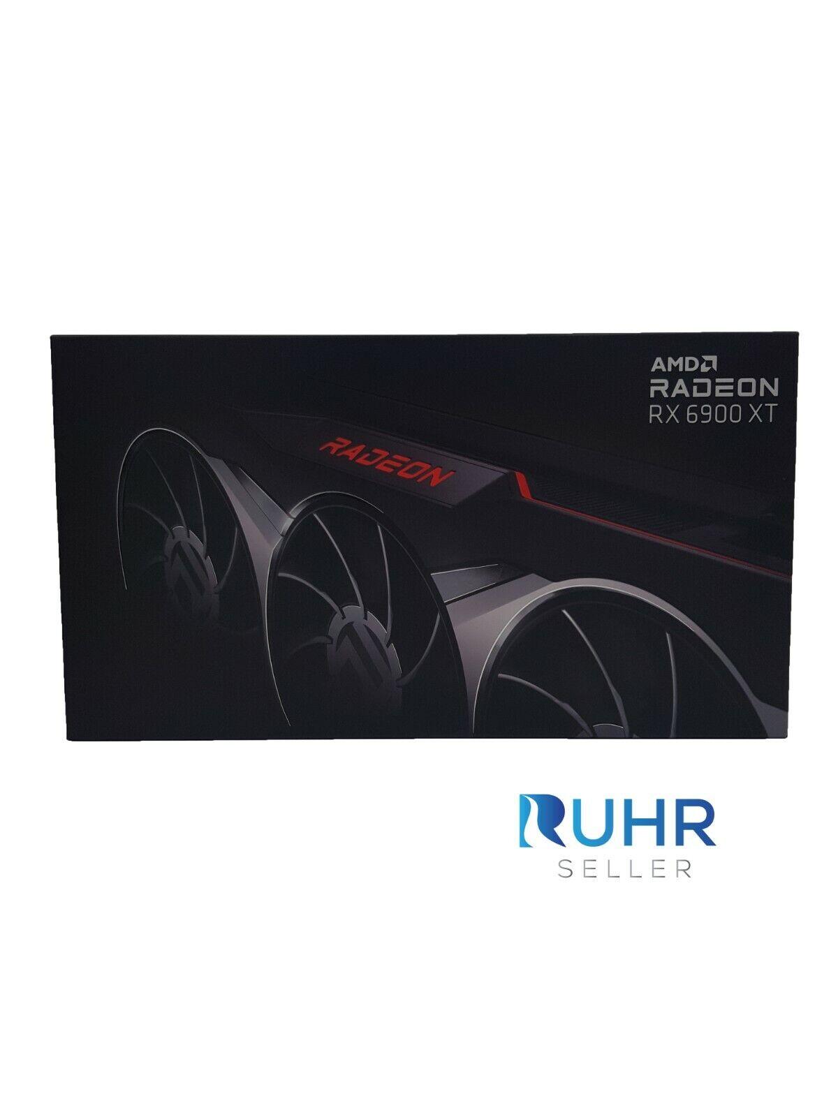 AMD Radeon RX 6900 XT 16GB GDDR6 Grafikkarte (100-438386) |Neu|OVP|Gewerblich