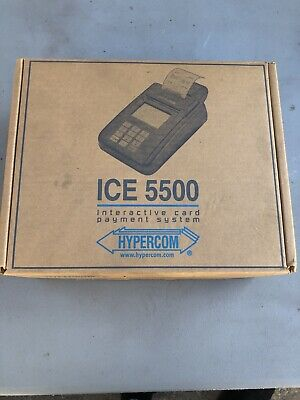Hypercom Ice 5500 Interactive Card Payment System