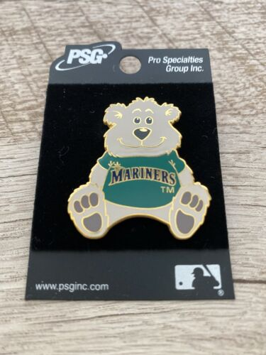 Seattle Mariners Pin Bear 2001 Trading Collectible Baseball