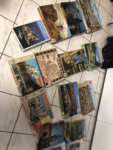 Puzzle Konvolut, Sammlung GEBRAUCHT