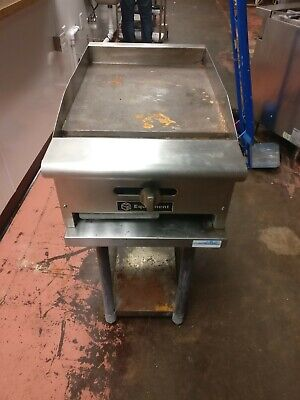 Two 12 Counter Top Gas Griddle. Matching Tables Gas Lines 700