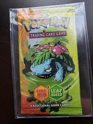 Pokemon EX Fire Red Leaf Green EX Booster Pack New Sealed Unopened