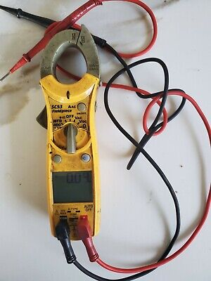 Fieldpiece Sc53 Ac Compact Clamp Meter True Rms W Test Leads