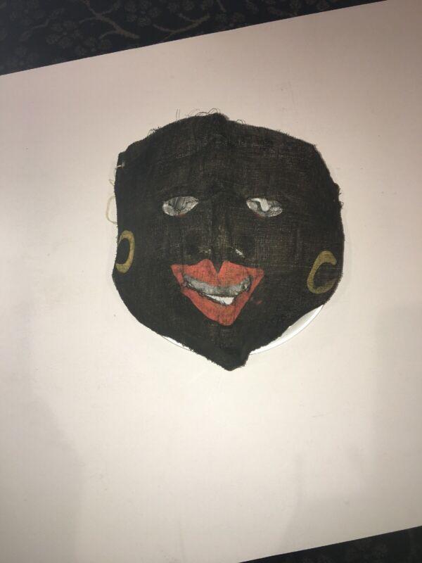 c.1920s Vintage/Antique Halloween Party Mask