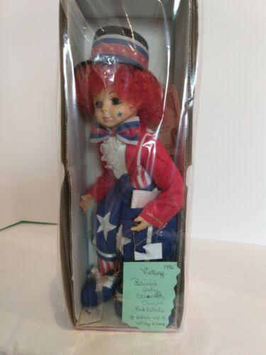 Clown Doll - Vintage Brinn July Calendar