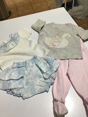 used baby girls clothes bundle 6-9 months