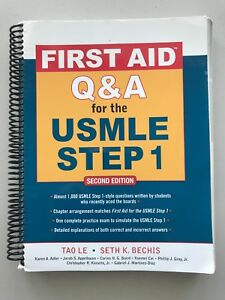 FIRST AID Q & A for USMLE STEP 1 Second Edition