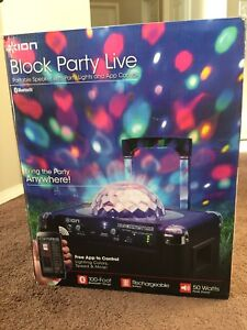 Ion IP25 Block Party Live Portable Audio System
