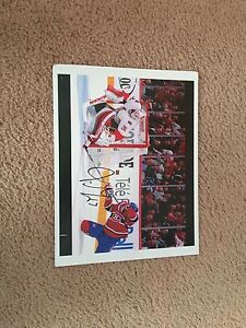 Signed pk subban picture
