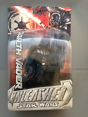 2004 STAR WARS DARTH VADER UNLEASHED, BY HASBRO, NEW