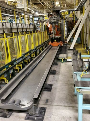 Kuka KL 1500-3 Robot 10 Meter 7th Axis Linear Rail  - Complete With Cables!