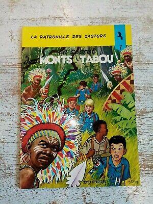 BD LA PATROUILLE DES CASTORS-LE SECRET DES MONTS TABOUS-ANNEE 70-ETAT TB