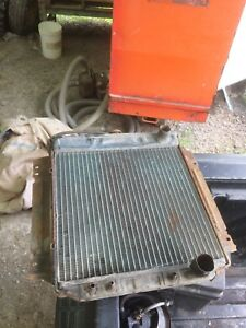 Radiator for 1967 Mercury cougar XR7