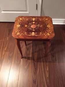 Walnut cocktail table