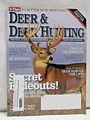 Deer & Deer Hunting Magazine March 2010 5 Tips To Better Bow