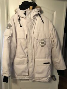 CANADA Goose Expedition jacket white