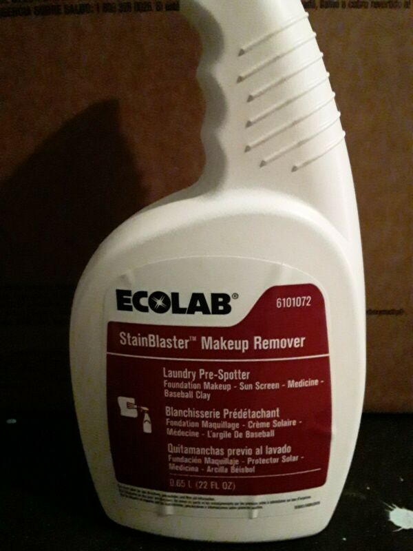 Ecolab stain blaster make up remover 22oz 6101072