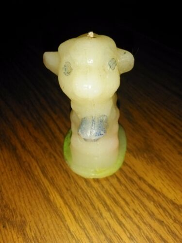 Standard oil company wayside lamb candle blue Bell