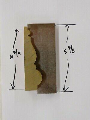 Shaper Moulder Custom Corrugated Back Knives For 4 34 Casing