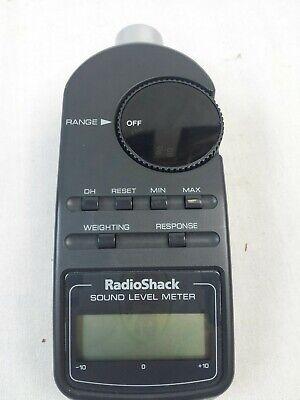 Radio Shack Digital Sound Level Meter Tester 33-2055.tested.jm-0554