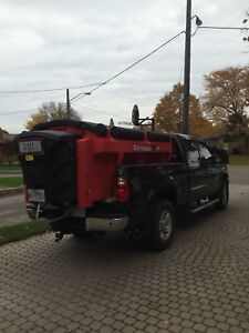 Ford F-250 Super Duty New Western Wideout Plow.