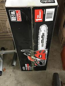 Ozito petrol chainsaw - new Packed in its own box Kedron Brisbane North East Preview
